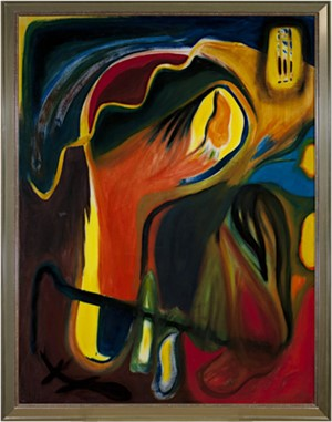 Surrealist-Self Portrait, 1965