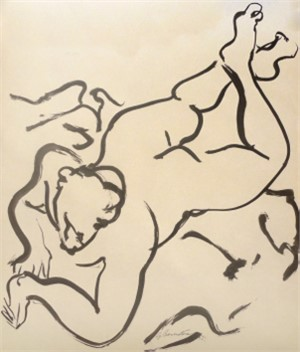 Laying Nude