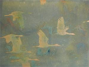 Flying In Spring Pollen, 2013