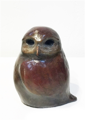 Digger - Red/Brown Baby Owl (Edition 1), 2020