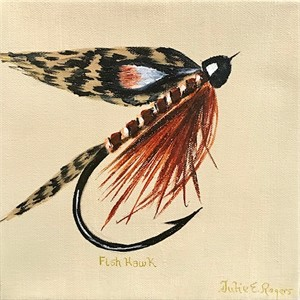 Fish Hawk Fly