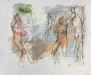 Three Figures by Thaddeus Radell