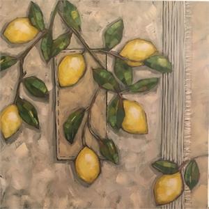 Lemons on Linen, 2018