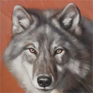 Wolf On Rust (1/25), 2018