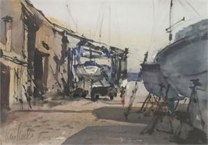 Boatyard Repairs, 2018