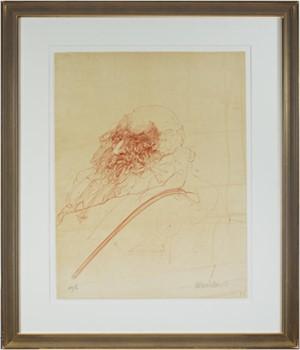 Homage A Leonard de Vinci (Portrait of Leonardo), 1978