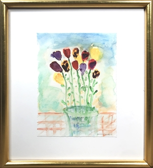 Mother's Day Bouquet signed lower right, 2004