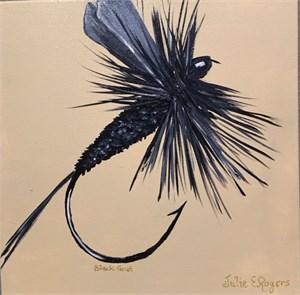 Black Gnat Dry Fly