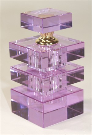 Crystal Perfume Bottle Purple-S