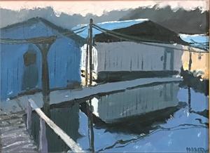 1956 Boat Dock, 2019