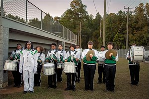 Band, Pre-Game, Dallas County, AL, 2017