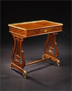LOUIS XVI ORMOLU-MOUNTED TABLE STAMPED L. MOREAU et JME, French, circa 1780