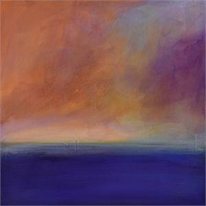 Sapphire Sea by Teresa McCue