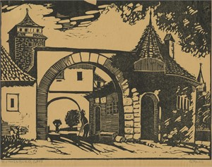 Rothenburg Gate, 1936