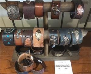 Leather Cuff Bracelet, 2019
