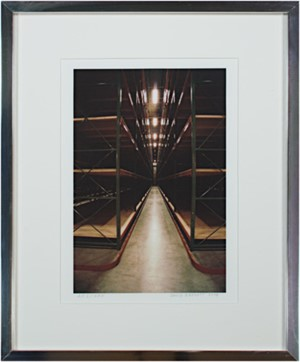 Steinhafel's Warhouse Series Steel Forest Cathedral of Infinite Space, signed on front lower right, 2004