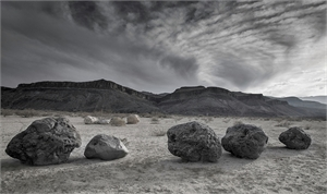 Nine Boulders (1/25), 2019