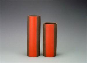 Red Band Vase