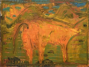 Untitled (Longhorn), 1995