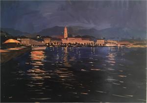 Evening in Croatia