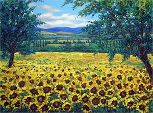 Fields of Sunshine by Jennifer Vranes
