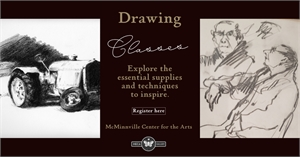 BEGINNING DRAWING, Tuesday, December 3rd, 2019 6pm - 8pm