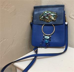 Purse - Shoulder Bag Blue #22, 2019