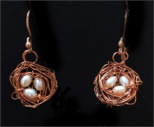 Earrings - Assorted Bird Nests