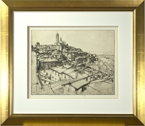 Siena From A Window, 1931