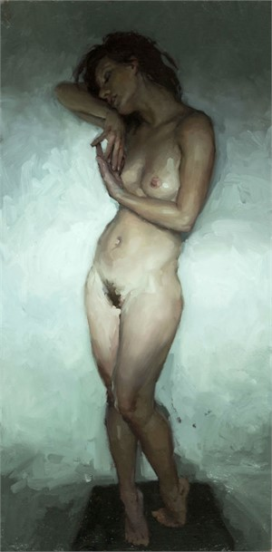 Nude Study, Window Light No. 2, 2015
