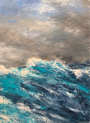 Caribbean Swells 3 by James Scoppettone