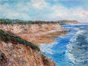 High Tide / Secret Beach by James Scoppettone