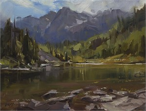 Plein Air at Maroon Bells, 2018
