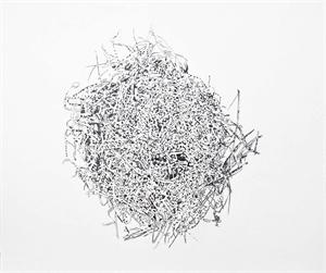 Graphite Nest #4, 2018
