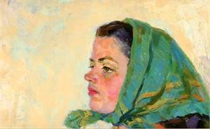 Raisa Matveyevna Moskalenko, A Woman's Portrait, 1971