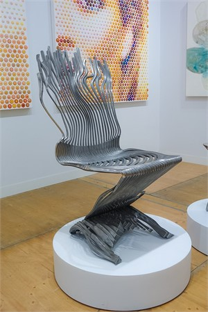 ZigZag Impulse Chair by Gil Bruvel