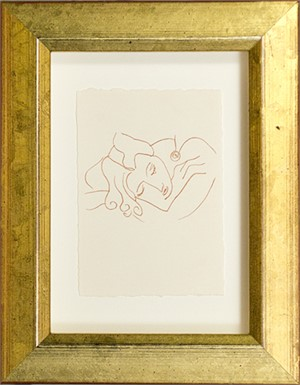 Sleeping Woman (from Florilege des Amours de Ronsard Portfolio), 2007