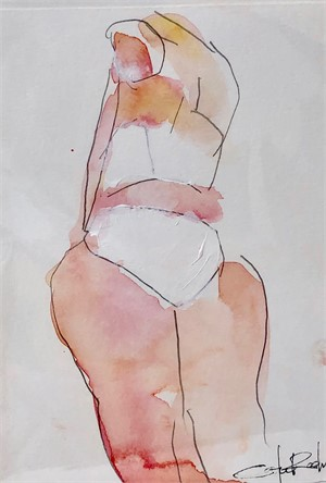 Figure in White, 2019
