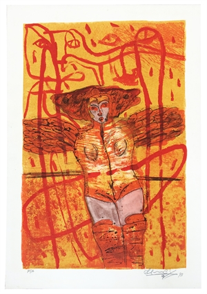 Untitled (Winged Woman), 1993
