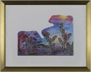 Southwest Series:  Paper Clip Cactus Artist's Palette, 2008