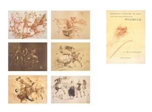 Homage A Leonard de Vinci (Complete Portfolio Set of 7 / De La Bataille Vol.1) (1/225), 1978
