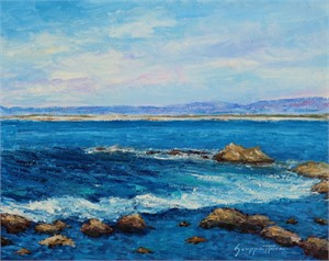 Monterey Bay  by James Scoppettone