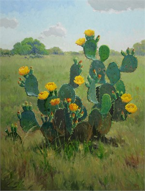 Prickly Pear Bouquet, 2018