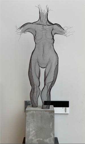 Under Construction Series -  Female Nude Anterior