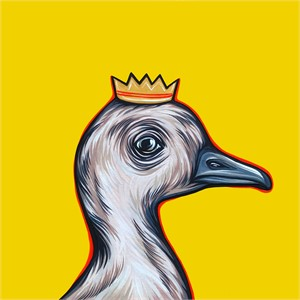 Mighty Ducks Orange Crown