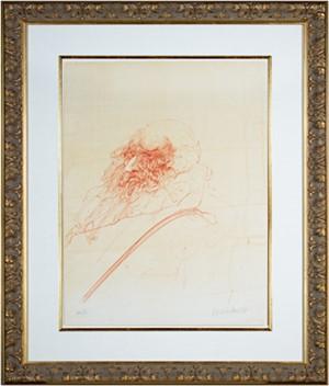 Homage a Leonardo d'Vinci (Self-Portrait from De La Bataille Vol. I), 1978