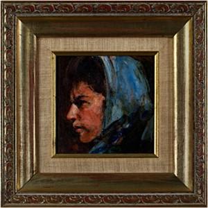 Portrait of a Woman (profile), 20th c.