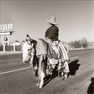 Burro Lady (Judy Majers) (1/50), 2001