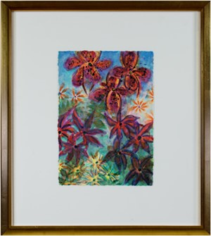 Tropical Luminous Flowers - Homage to Martin Johnson Heade, Luminist (1819-1904), 2005