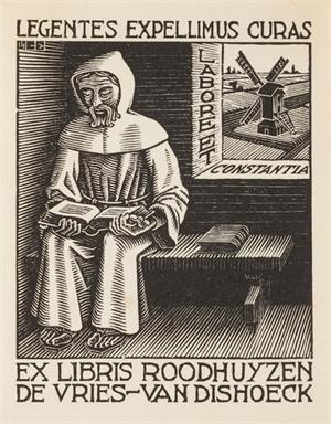 (Monk) Bookplate, 1942